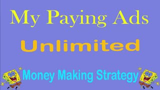 My paying ads money making strategy 2016 | make money online | how to make money online|