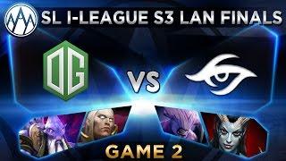 OG vs Secret Game 2 - SL i-League StarSeries S3 LAN Finals - @ODPixel @FoggedDota