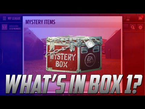 WHAT S IN MYSTERY BOX 1 REVEAL Madden Mobile 17