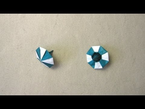 Origami Instructions Spinning Top Manpei Arai