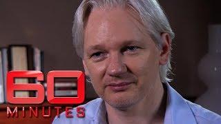 Wikileaks founder Julian Assange talks about escaping embassy   60 Minutes Australia
