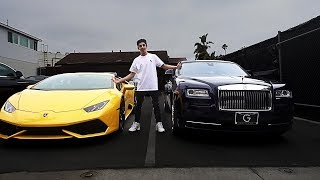 CHOOSING MY NEW CAR!! (Lamborghini or Rolls Royce)