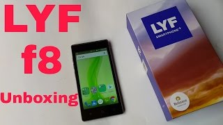 LYF F8 Unboxing : Reliance JIO