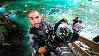 Treasure Hunting In Worlds Most Populated Spring!! (interesting finds)   Jiggin