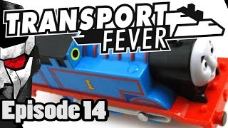 Transport Fever - Road to 777 Million - The Plastic Train! - #14