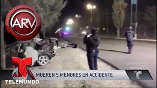 Dolor y muerte en accidente de auto manejado por un niño | Al Rojo Vivo | Telemundo