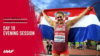 IAAF World Championships London 2017 Live Stream - Day 10 - Evening Session