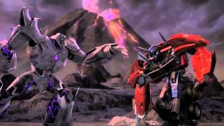 Tranformers Prime Megatron AMV Screaming Bloody Murder