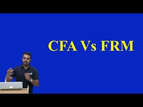 CFA Vs FRM