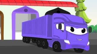 Learn Colors with Trucks – Educational Video | Cars Toys For Kids