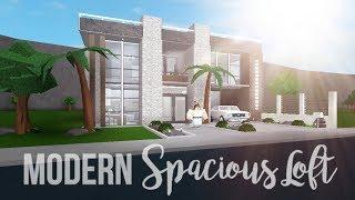 Bloxburg: Modern Spacious Loft 56K