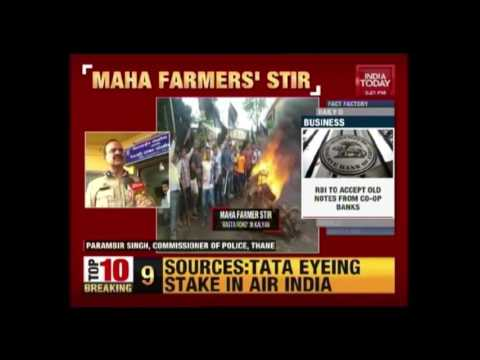 Xxx Mp4 Farmers Protest Against Air Force Land Grab Turns Violent In Kalyan Maharashtra 3gp Sex