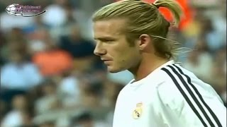 David Beckham Vs Real Betis II Real Madrid Debut
