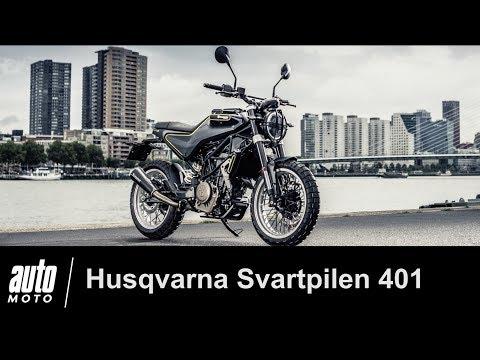 Husqvarna Svartpilen 401 ESSAI POV Auto Moto