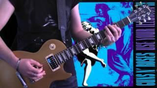 Guns N' Roses - Estranged (full guitar cover)