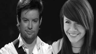 David Cook and Allison Iraheta duet I Don't wanna miss a thing