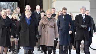 Her er Erna Solbergs blågrønne regjering