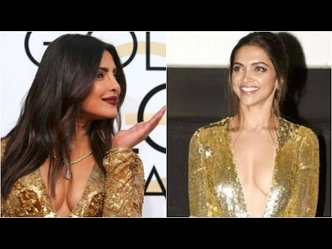 Deepika or Priyanka: Who shines better in golden gown?