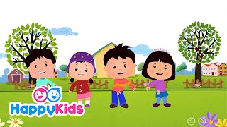 Boys & Girls - Nursery Rhymes For Kids And Children | Baby Songs | HappyKids