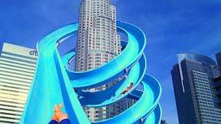 AVOID THESE WATER SLIDES AT ALL COSTS! 😨😳