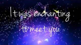 Enchanted - Taylor Swift (Lyrics on the screen) by tslove13