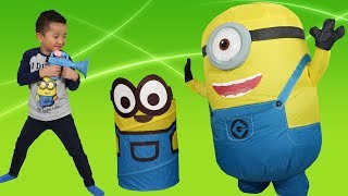 Despicable Me 3 Minions Surprise Toys Collection Unboxing Fun With Ckn Toys