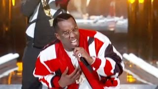 Diddy Falls On Stage - BET Awards 2015 Best Moments
