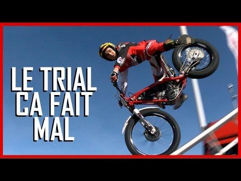 Motorbike Trial is very violent