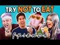 Try Not To Eat Challenge - F.R.I.E.N.D.S Food | People Vs. Food
