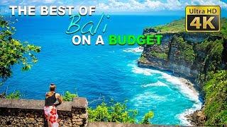 DIY Budget Travel (4K) - Best of Bali: Uluwatu Temple, Tanah Lot, Ubud Palace, Blue Point Beach
