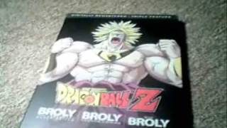 Dragon Ball Z Broly Triple Feature Review