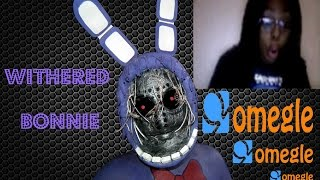 Withered bonnie goes on omegle - Five nights at freddy's 2