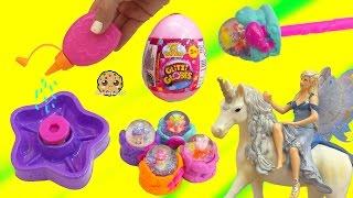 Schleich Fairy Finds Glitzi Globe Water Fairies + Surprise Mystery Egg - Toy Video