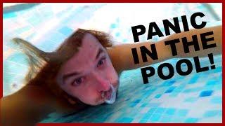 PANIC IN THE SWIMMING POOL!!