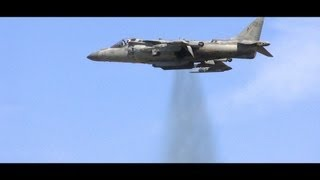 VERTICAL TAKEOFF, Harrier Jump Jet - HD video. VSTOL