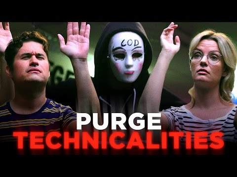Um We Have A Few Questions About the Purge CH Does the Purge