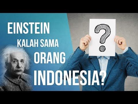 Einstein Dikalahkan Orang Indonesia, Ini 5 Orang Dengan IQ Tertinggi di Dunia!