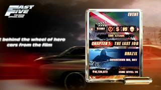 Fast Five the movie: Official Game - mobile game trailer by Gameloft