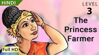 """The Princess Farmer: Learn Hindi with subtitles - Story for Children """"BookBox.com"""""""