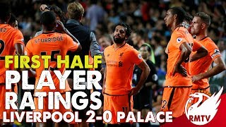 8s for Henderson, Woodburn and Salah! | Liverpool v Crystal Palace 2-0 | First Half  Player Ratings