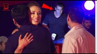 Salman Khan Looks Upset on Lulia Vantur At Race 3 Song Launch