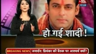 Salman Khan ki Shadi hogayi hai Salman Khan married