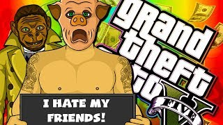 MY FRIENDS ARE GRANDMAS! - GTA 5 with The Crew!