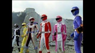 Power Rangers Operation Overdrive - Ronny on Empty - Power Rangers vs Fearcats (Episode 23)