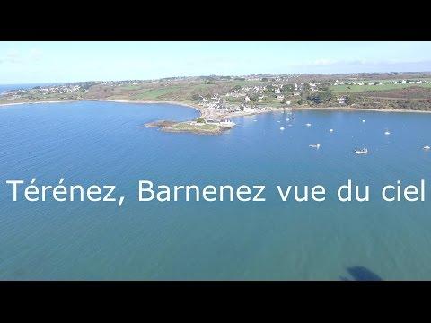 Térénez Barnenez Plougasnou vue du ciel