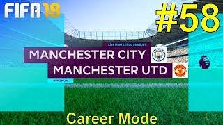 FIFA 18 - Manchester United Career Mode #58: vs. Manchester City