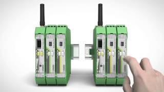 Quickly and easily transmit wireless I/O signals with Radioline - Phoenix Contact