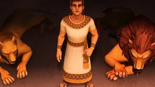 Superbook -  Episode 7 - Roar! - Full Episode (Official HD Version)