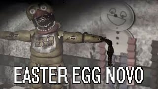 FNAF2: EASTER EGG DESCONHECIDO - O QUE A CHICA ESCONDE?