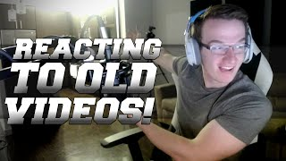 REACTING TO OLD VIDEOS/THE STORY OF MINI LADD!